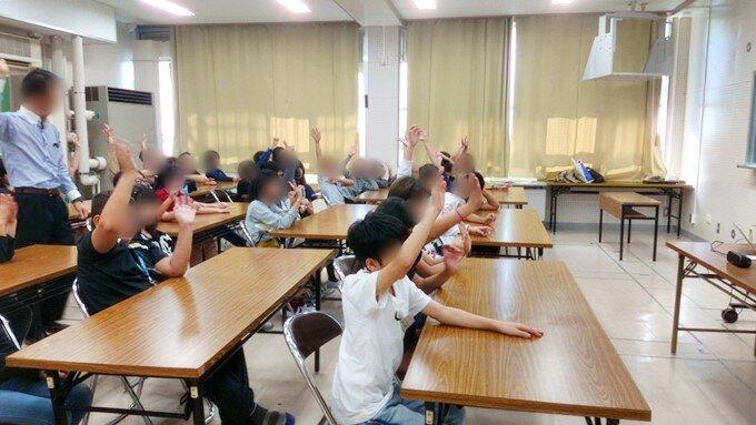西築地小学校花火ワークショップ